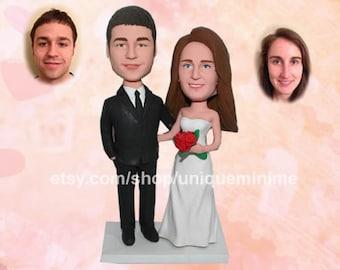 Custom Wedding Cake Topper Mr and Mrs Cake Topper