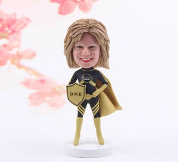 Personalized 50th Birthday Gift Idea Custom Bobblehead 50
