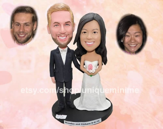 Wedding Gift Unique Wedding Gift Bobblehead Dolls Custom Etsy