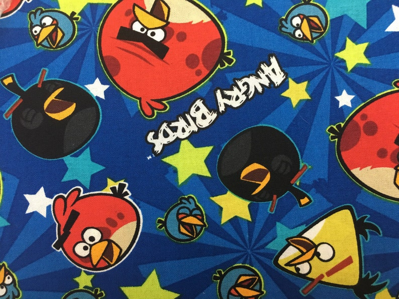 Angry Birds* Stethoscope Cover Medical Nursing Womens RN CNA Pediatric Doctor Surgical Hospital Scrunchy cover *Great Gift
