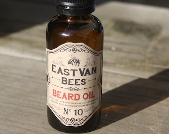 Beard Oil #10 (Vetiver, Frankincense and Lavender)