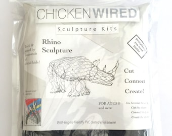 ChickenWired sculpture kit - Rhino