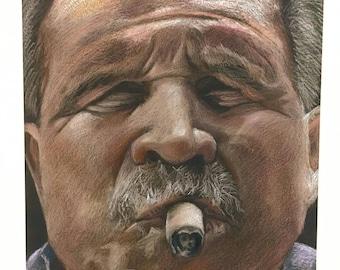 Mike Ditka Portrait