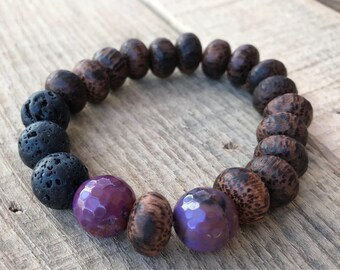 Gemstone Diffuser Bracelet!