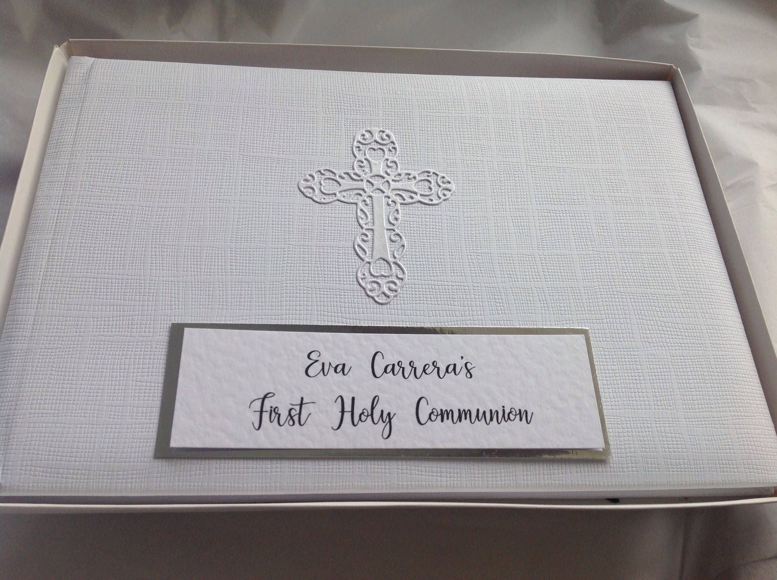 Personalised First Holy Communion Album