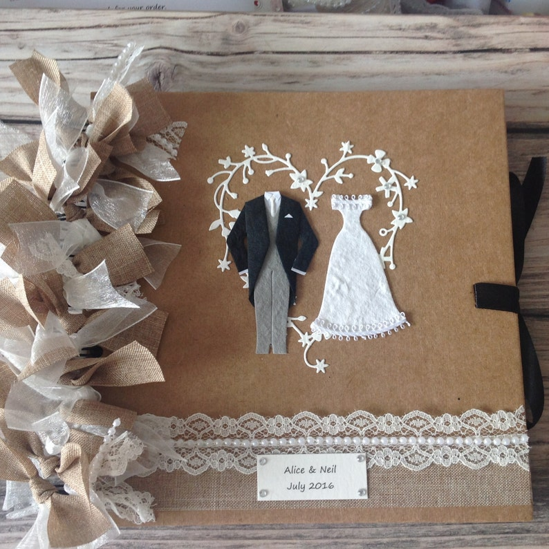 wedding album size 8x8 inches bride  groom with memory