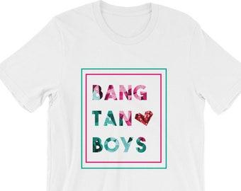 Kpop BTS Bangtan Boys T-shirt