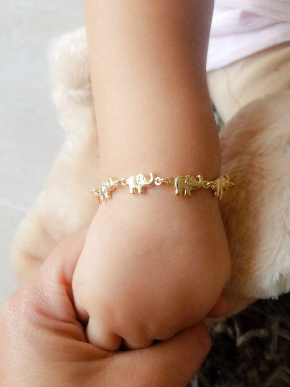 Elephant baby bracelet
