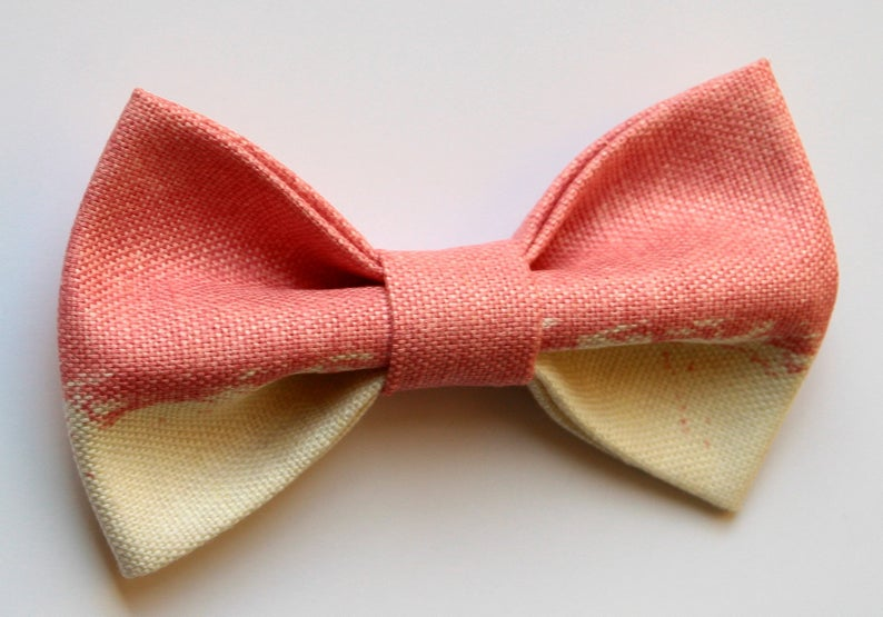 Man Pink Bow Tie 2019 Men S Accessories Fashion Trend Etsy
