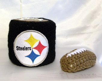 Pittsburgh Steelers, Pittsburgh, Steelers, NFL, Toilet Paper Cover, Toilet  Tissue Cover, Football Soap Cover, Free Shipping In US