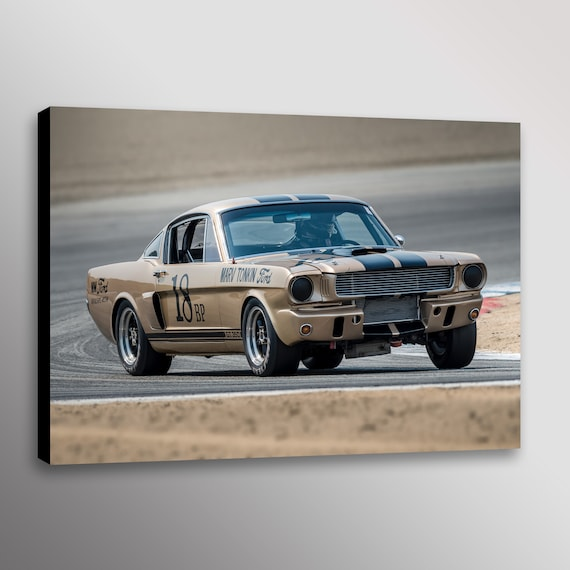 "Vintage Trans-Am Boss 302 Camaro Racecar Photo Wall Art Canvas Print 20/""x30/"""
