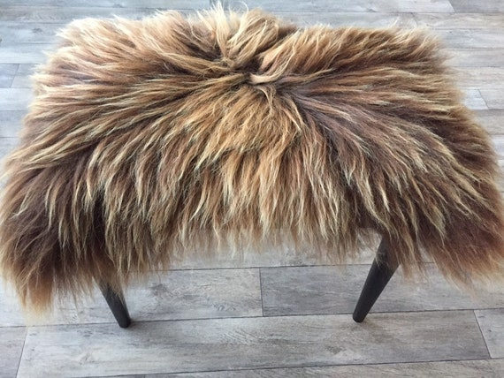 Seat cover sheepskin chair pad wool decoration fur cushion ornamental prints