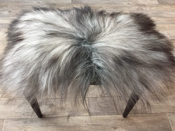 Seat cover sheepskin chair pad wool decoration fur cushion
