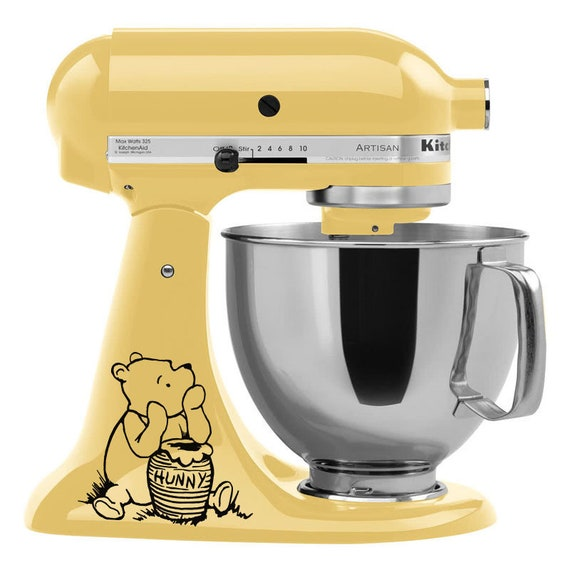Winnie The Pooh Mixer Decal Kitchenaid Mixer Decals Etsy
