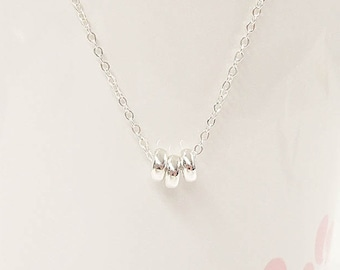 Simple Minimal Necklace - Dainty Everyday necklace