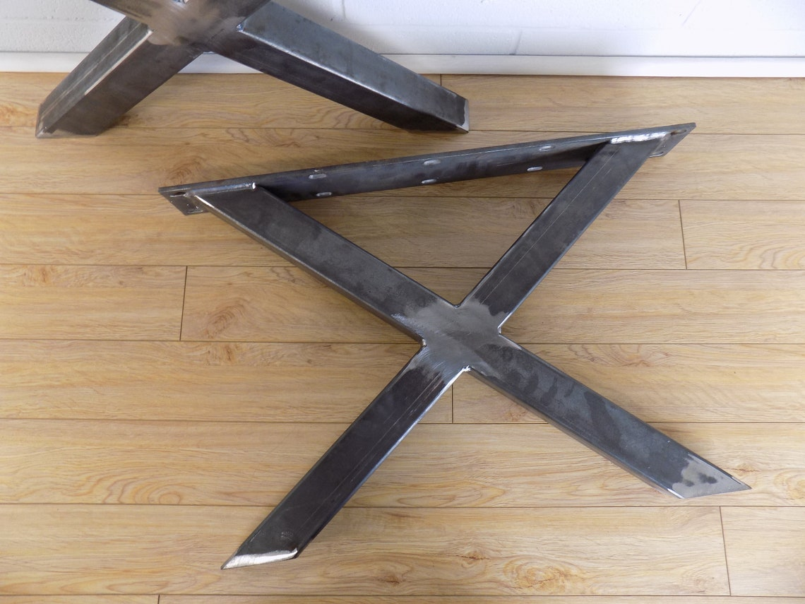 X Style Coffee Table Legs - 2x2 - Set of Two