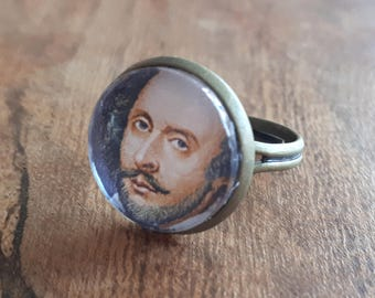 William Shakespeare - Adjustable Ring
