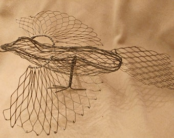 bird wire form handmade ready for beading or more