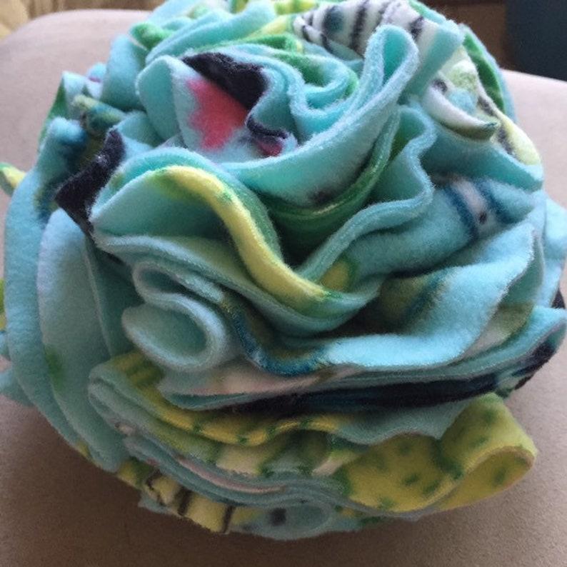 Multi-Colored Snuffle Pouf 9 image 0