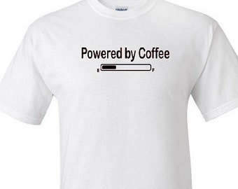 Powered by Coffee T Shirt