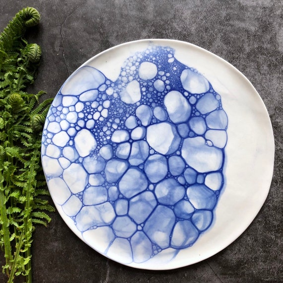 Mermaid series plate/platter