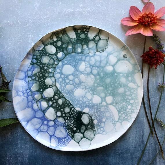 Xl Mermaid series plate/platter