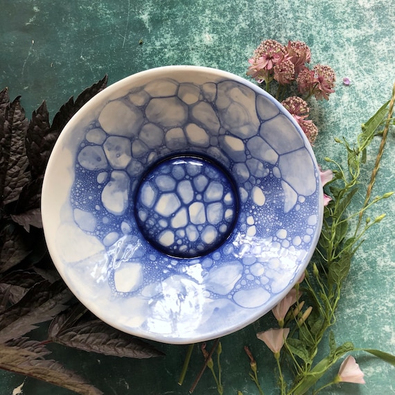 Mermaid series porcelain bowl