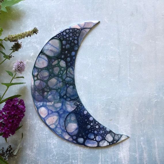 Mermaid series porcelain moon