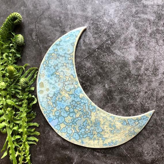 Galaxy stoneware moon