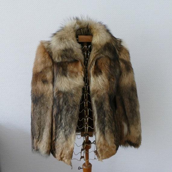 60's fur coat