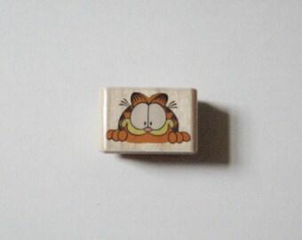 Garfield Peek-A-Boo Rubber Stampede Stamp A295-C