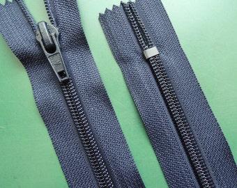 2 Reisverschlüsse für Kissen Kleider 60cm Nichtteilbar Bordeaux Perlon 3mm