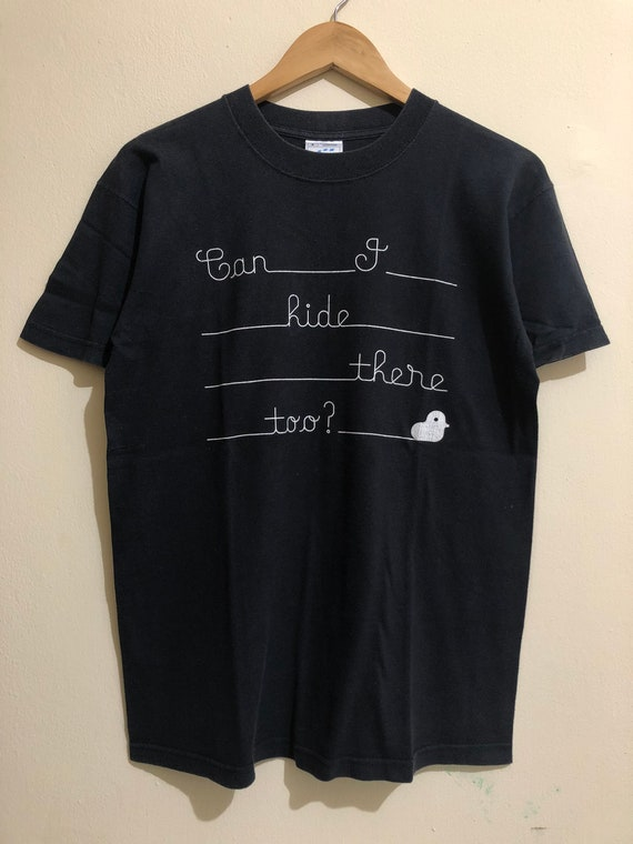 Vintage Bjork Can I Ride There Too T-Shirt