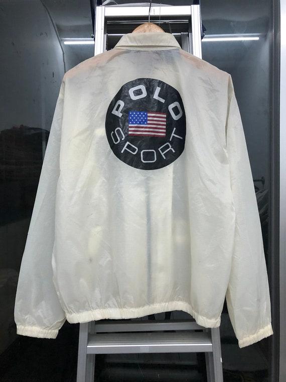 Vintage Polo Sport USA Flag Ralph Lauren Jacket