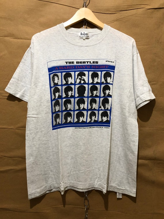 Vintage The Beatles A Hard Day's Night T-Shirt