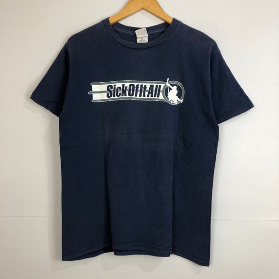Vintage 90/'s Sick of It All T-Shirt