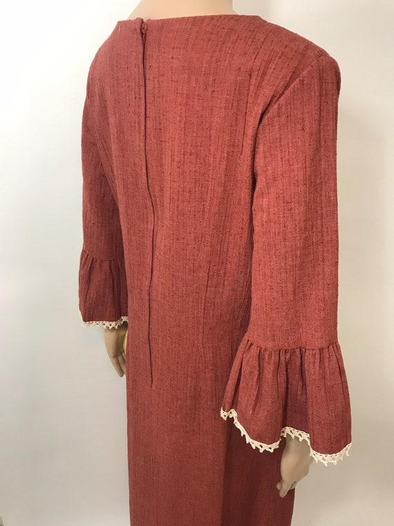 NWT 70's Shaheen Prairie Dress - image 2