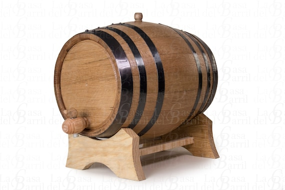 Barrel Aged Personalized 3 Liters Custom Wine Oak Aging Barrel