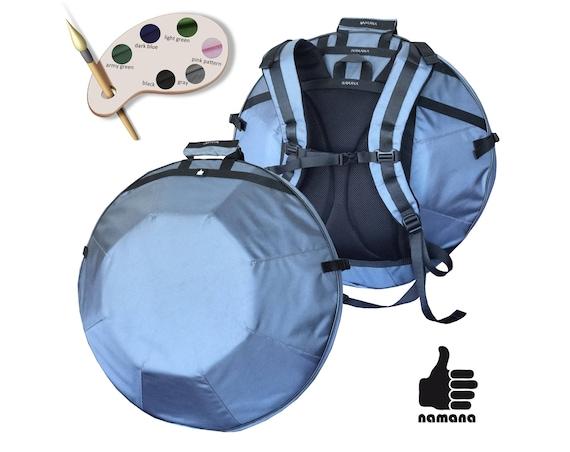 ST-H01 Handpan backpack no pockets on stock UA rigid padding bag case