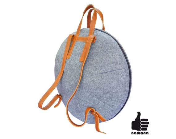 Handpan backpack ST-H03 Custom your size total armoured with pocket bag case