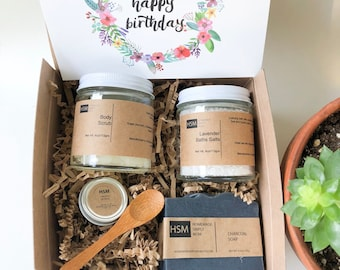 Birthday Spa Gift Box For Women Ideas Her Girl Boss Coworker Idea