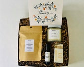 Thank you Gift Set, Get Well Soon Gift, Feel Better Gift for her, Recovery Kit