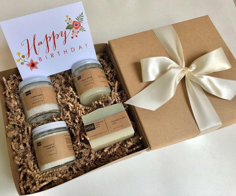 Birthday Gift Box For Her Happy Spa Basket