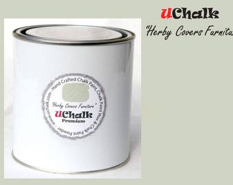 Beautiful hand made chalk paint by UChalk Premium - Herby Covers Furniture