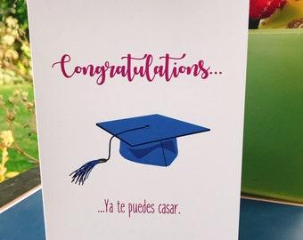 7fb3f6968693 Graduation- College Graduation- Cap and Gown- Graduacion- Congratulations-  Felicidades