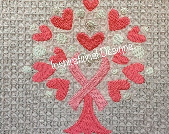 Awareness Ribbon Tree. towel