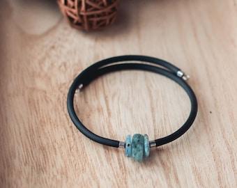 Kyanite Bracelet, Blue Bracelet, Mermaid Bracelet, Gemstone Bracelet, blue Stone, Kyanit Stone, Mermaid Jewelry