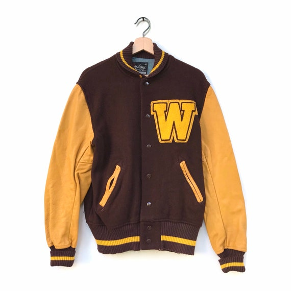 Vintage Whiting teddy bomber jacket