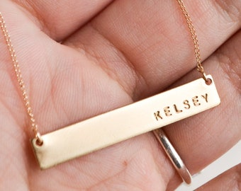 Custom name necklace  d1da454887