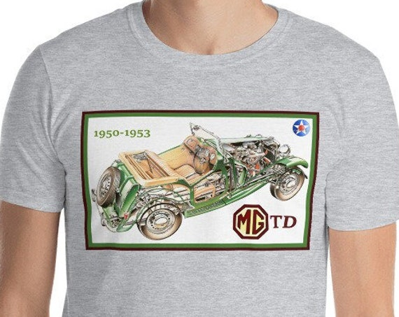 Short-Sleeve Unisex T-Shirt, MG TD Cutaway